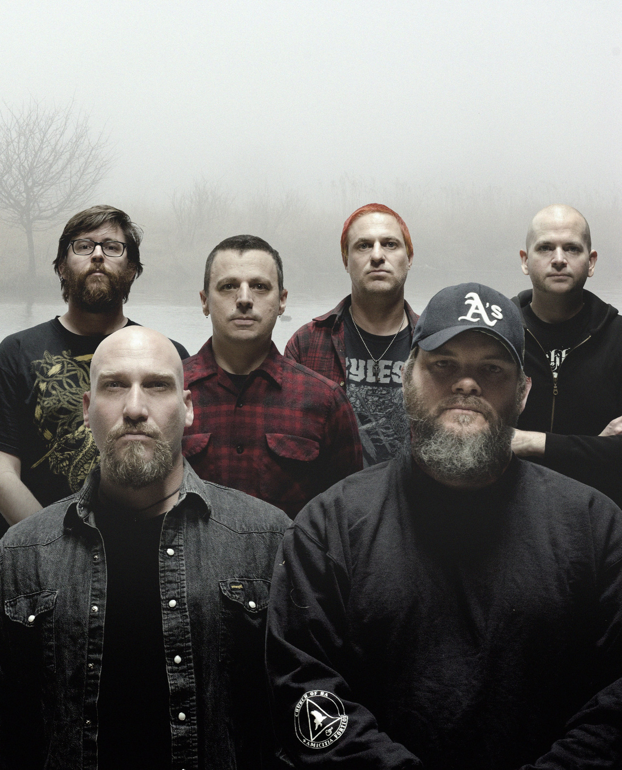 "A nice new track.  nprmusic:  The long-running metal band Neurosis returns with its 10th album — and continues to find new ways to sound heavy. Stream ""At the Well"" from Honor Found in Decay now.  Photo: Jason Roeder"