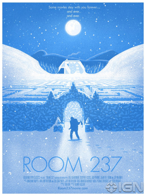 "aroundnetworks:  Stanley Kubrick's ""The Shining"" Mondo Poster"