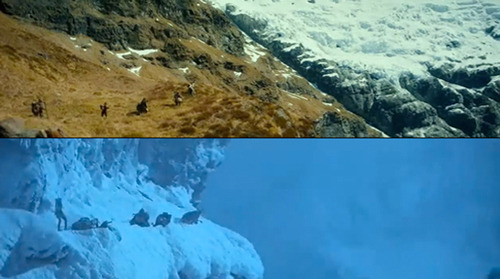 Hobbit & Fellowship: Lord Of The Rings Trailer Comparison