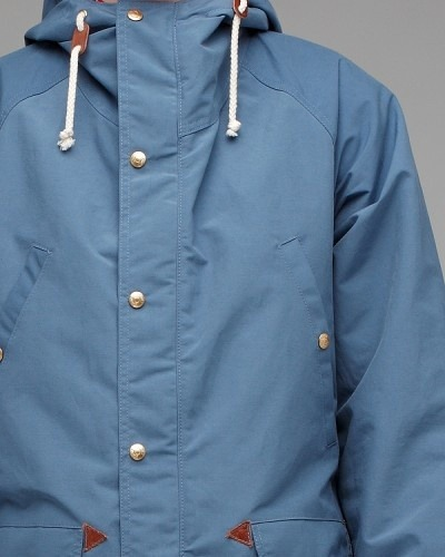 Mountain Parka. I like this blue.