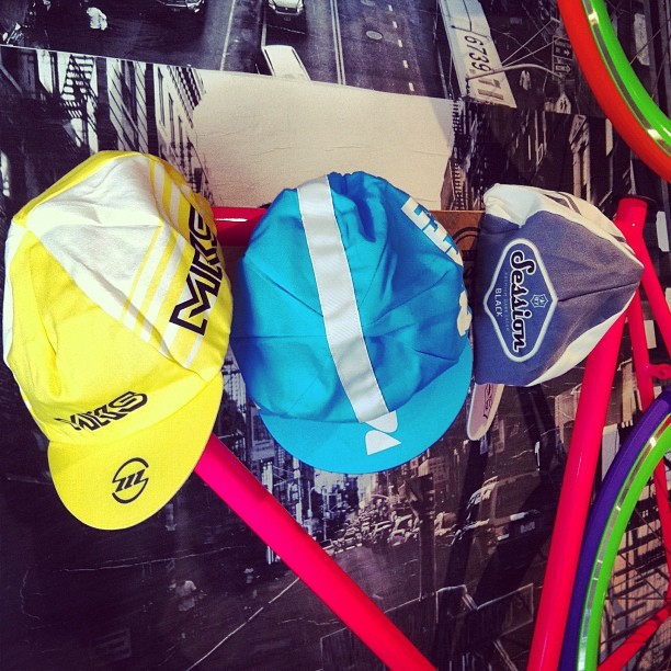 More cycling caps in stock! #mks #nitto #sessions #stradacustoms  (Taken with Instagram)