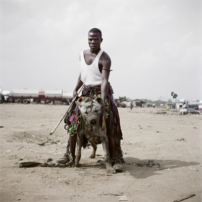 Jatto with Mainasara, Ogere-Remo, Nigeria 2007 - Pieter Hugo