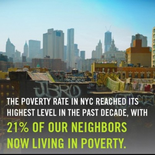 New poverty data out today. http://nyti.ms/QonTgK (Taken with Instagram)
