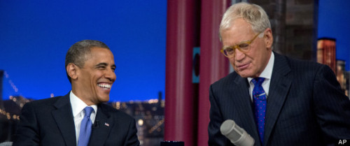 Obama Talks White House Beer On 'Late Night With David Letterman'