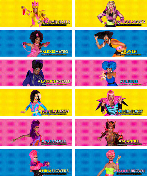 realitytvgifs:  Drag Race fans! Spice up your profile with All Stars Drag Race FB Covers! Download them all here. Who will be the Queen of all Queens?