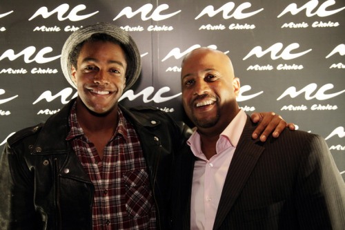 "Photo: @AustinBrown & Damon Williams -VP Programming & Content Development Music Choice. On September 11th, Austin performed at Music Choice's ""An Evening of Diversity In Style"" mixer that concluded the National Association for Multi-Ethnicity Communications 26th Annual Conference."