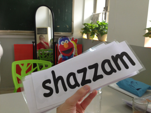 Teaching shazzam as part of my Grade 4 vocabulary tomorrow. These parents better not blame me when their kids come home all sassy!
