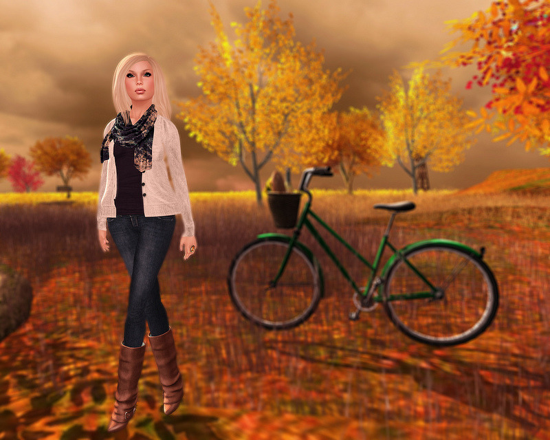 "Check out the Second Life Pic of the Day, ""Autumn Loveliness"", photo by MaribelButton. http://bit.ly/OezmAQ"