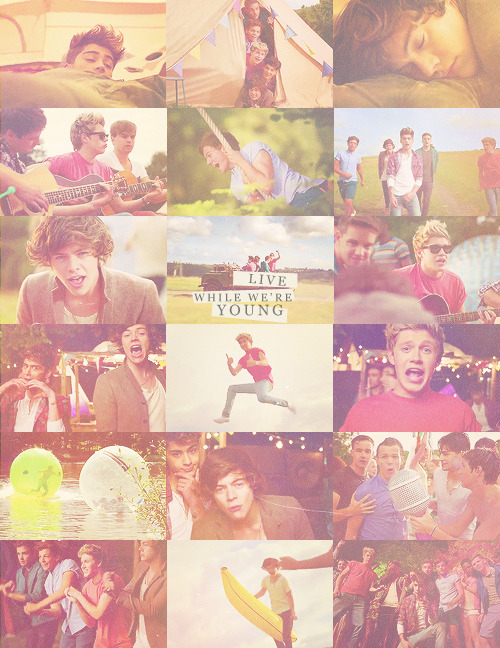 tonight let's get some, and live while we're young
