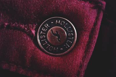 Burgundy Hollister Jeggings