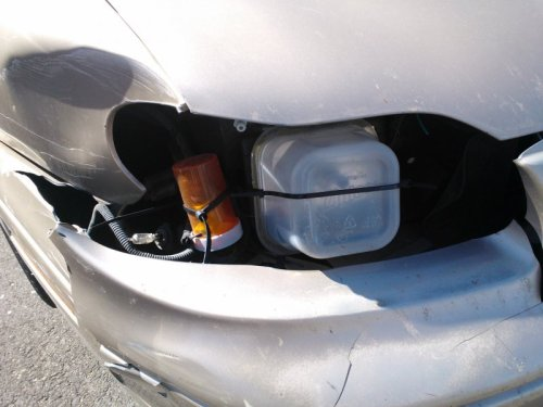 How to Fix a Broken Headlight on a Budget You know what they say, if it's broken, barely fix it.