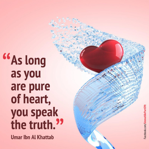 islamicthinking:  islamic-quotes:  Pure of heart  Pure of heart.