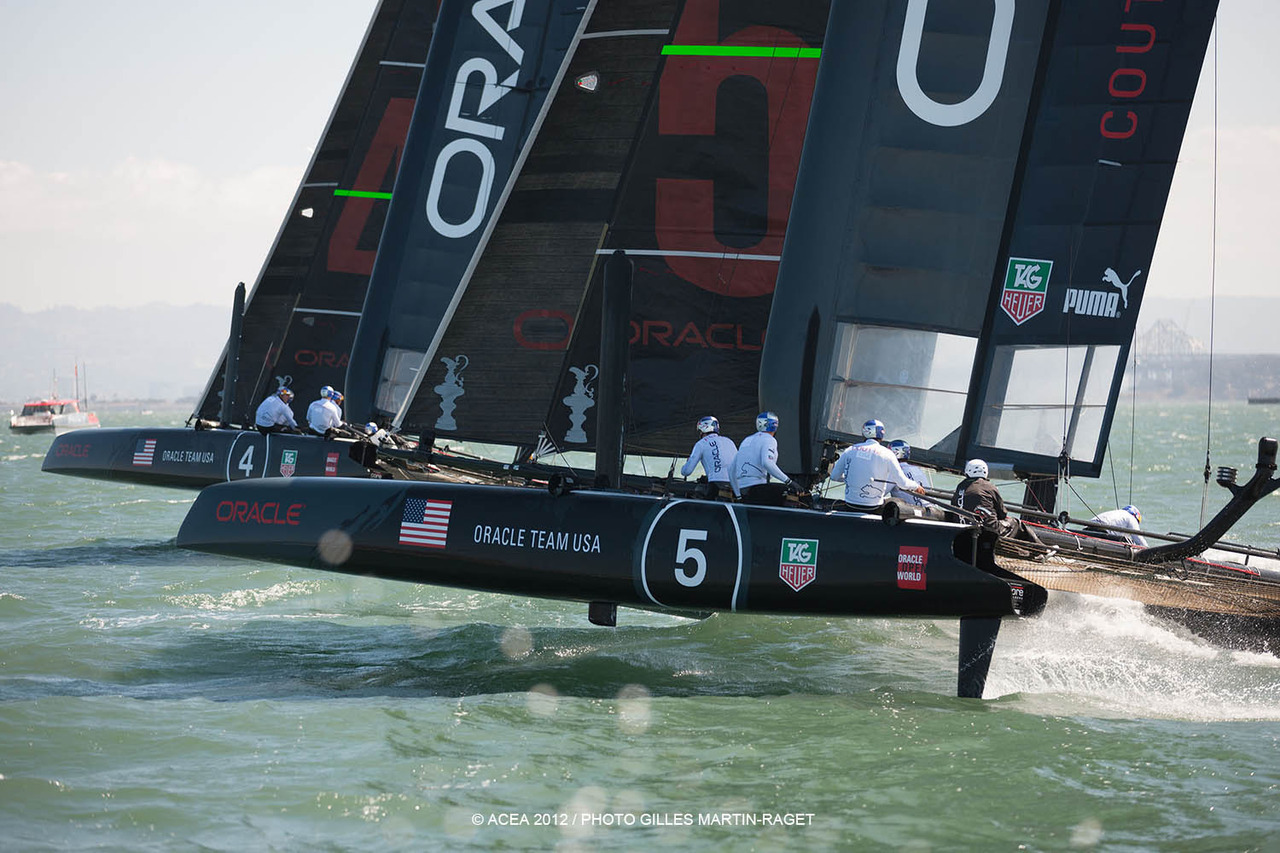 AC World Series San Francisco Preview – ORACLE TEAM USA COUTTS Some might find it bemusing that a four-time America's Cup champion can be second fiddle to someone nearly 20 years younger, but such is the plight of Russell Coutts. The CEO of ORACLE TEAM USA has willingly taken a backseat to team skipper Jimmy Spithill as the reigning America's Cup champs look to win the trophy again in 2013. Coutts, however, takes the helm of the team's No. 5 AC45 for the World Series regattas, and he can't be taken lightly on the racecourse. He's won back-to-back match racing championships at Newport and San Francisco, in both instances beating Spithill Prediction: It would be surprising if Coutts didn't make a run at the podium for the match racing, and if he can stay on the water he'll figure in the mix for the fleet racing as well.