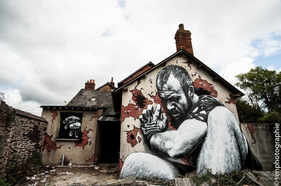 "By MTO - In Rennes, France    Here's the making of gorgeous ""art""  ""Who wants to kill MTO ?"" : MAKING-OF. from MTO (Graffiti - Street-art) on Vimeo."