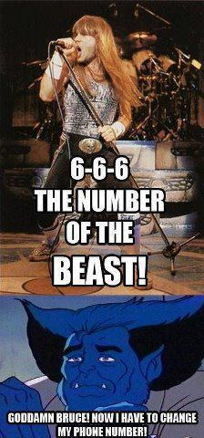 The number of the beast.