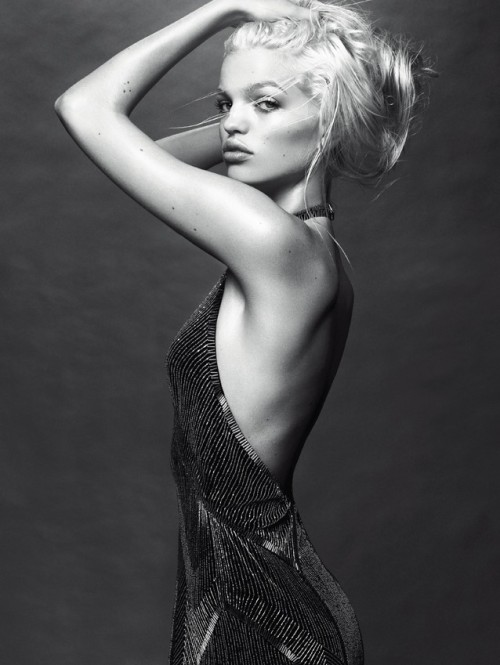 vogueweekend:  Daphne Groeneveld photographed by Greg Kadel in W October 2012