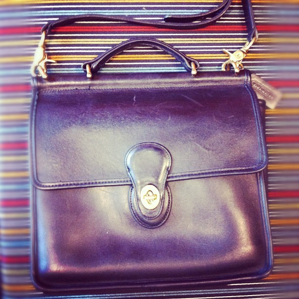 In other news. My new (to me) purse is perfect.  (Taken with Instagram)