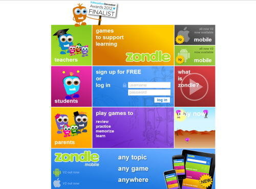 "kbkonnected:  zondle… Create fun games with your own content or ""borrow from others. It's FREE! #games #edtech I spent quite a bit of the afternoon fooling around with zondle. Zondle in a nutshell: You create quiz questions/answers and zondle turns them into fun games for your students. I dove into zondle and quickly (well not quickly enough) realized that the video tutorials are there for a reason. If you watch these short videos you'll be able to learn zondle quickly. If not…you probably won't. I HIGHLY recommend watching them! Some zondle features… Create quizzes that are turned into games. Your students can choose which type of game to play with your content. Use the questions of others and customize them to suit your needs. Create an account for your class and keep track of progress. Embed games into your blog or website. Love this feature! Your students can create content for games too. Fun way to show what they have learned.  Nice site that can be used in many classrooms! Screenshot of some of the games your students can choose from.  Below is a mini-game I created for Hispanic Heritage Month. <a href=""http://www.zondle.com"" data-mce-href=""http://www.zondle.com"">zondle - games to support learning</a>zondle - games to support learning  You may also like… EdGames (customizable!) Customizable PowerPoint Games 3 Great Differentiation Tools 7 Ways to Build Your Own Educational Games Multiplication Math Blizzard   Zondle looks like a cool way to make your own educational games."