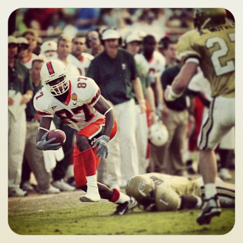 Throwback Thursday: Reggie Wayne Leaves 'Em in the Dust #BeatGT