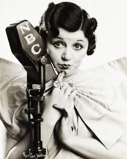 Mae Questel - the voice behind Betty Boop and Olive Oyl. 1936