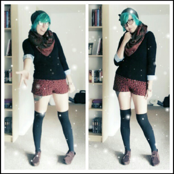 OOTD. Full shots. ^^ (Taken with Instagram)