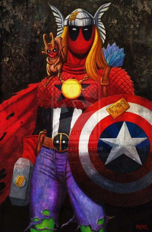 Marvel Madness (the art of Frank A. Kadar)