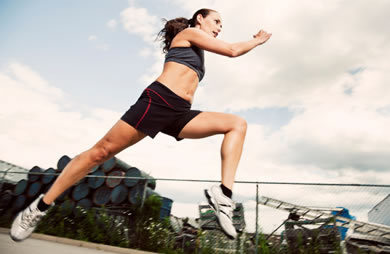 "Want to Start Running or Increase your Speed but Unsure How to Train? Check out these awesome training programs that will help you get started and for those of you seasoned runners out there, the Intermediate and Advanced programs will help you increase your speed just in time for fall races. This program will help increase the pace that you're able to maintain while running. If you're new to running or exercise, start with the Beginner program. As you progress, slowly increase your time and eventually move to the Intermediate and Advanced workouts. Because this is a general program, you may need to adjust the recommended speeds, intensities, and times to suit your fitness level.If you have access to a treadmill, focus on the pace guidelines (left column), working at your own intensity level. If you run outdoors or do not have access to any tools to measure your pace, then use the intensity guidelines (right column) as a guide for how fast or slow to run. (Find a full intensity chart and explanation below the workouts.) ****Beginner Speed Program**** Warm up at 3.5 mph pace for 5 minutes (RPE) 3.5  Jog at 5 mph pace for 2 minutes (RPE) 5  Jog at 5.3 mph pace for 2 minutes (RPE) 6  Jog at 5.7 mph pace for 5 minutes (RPE) 7  Jog at 5.9 mph pace for 3 minutes (RPE) 7.5  Jog at 5 mph pace for 2 minutes (RPE) 5  Cool down 5 minutes (RPE) 3.5  Total Workout Time: 24 minutes   ****Intermediate Speed Program**** Warm up at 5 mph pace for 5 minutes (RPE) 3.5  Jog at 5.5 mph pace for 2 minutes (RPE) 5  Jog at 5.8 mph pace for 2 minutes (RPE) 6  Jog at 6.2 mph pace for 5 minutes (RPE) 7  Jog at 6.4 mph pace for 3 minutes (RPE) 7.5  Jog at 5.5 mph pace for 4 minutes (RPE) 5  Jog at 5.8 mph pace for 2 minutes (RPE) 6  Jog at 6.2 mph pace for 2 minutes (RPE) 7  Jog at 6.4 mph pace for 5 minutes (RPE) 7.5  Jog at 5.5 mph pace for 2 minutes (RPE) 5  Cool down 5 minutes (RPE) 3.5  Total Workout Time: 37 minutes    ****Advanced Speed Program**** Warm up at 5.5 mph pace for 5 minutes (RPE) 3.5 Jog at 6 mph pace for 2 minutes (RPE) 5 Jog at 6.3 mph pace for 2 minutes (RPE) 6 Jog at 6.7 mph pace for 5 minutes (RPE) 7 Jog at 6.9 mph pace for 3 minutes (RPE) 7.5 Jog at 6 mph pace 4 minutes (RPE) 5 Jog at 6.3 mph pace for 2 minutes (RPE) 6 Jog at 6.7 mph pace for 5 minutes (RPE) 7 Jog at 6.9 mph pace for 3 minutes (RPE) 7.5 Jog at 6 mph pace for 4 minutes (RPE) 5 Jog at 6.3 mph pace for 2 minutes (RPE) 6 Jog at 6.7 mph pace for 5 minutes (RPE) 7 Jog at 6.9 mph pace for 3 minutes (RPE) 7.5 Jog at 6 mph pace for 2 minutes (RPE) 5 Cool down 5 minutes (RPE) 3.5 Total Workout Time: 52 minutes An Explanation of Using the RPE Method to Measure Intensity Rate of Perceived Exertion (RPE) may be the most versatile method to measure exercise intensity for all age groups. Using this method is simple, because all you have to do is estimate how hard you feel like you're exerting yourself during exercise. RPE is a good measure of intensity because it is individualized—it's based on your current fitness level and overall perception of exercise. The scale ranges from 1 to 10, allowing you to rate how you feel physically and mentally at a given intensity level. 10 Maximum exertion 9 Very hard  8 Extremely hard 7 Hard (heavy) 6 Hard 5 Somewhat hard 4 Fairly light 3 Light 2 Very light 1 Rest An RPE between 5 and 7 is recommended for most adults. This means that at the height of your workout, you should feel you are working ""somewhat hard"" to ""hard."" (source: www.sparkpeople.com)"