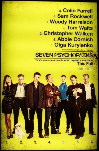 I am watching Seven Psychopaths                                                  93 others are also watching                       Seven Psychopaths on GetGlue.com