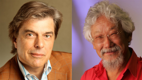 Legendary environmentalist David Suzuki and The End of Growth author Jeff Rubin set off on a multi-city speaking tour to explore the vital connection between the economics community and the environmental movement.