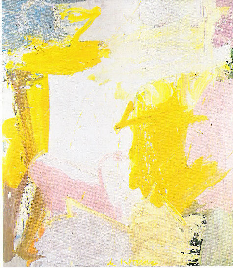 Willem de Kooning, Rosy fingered dawn at Louse Point