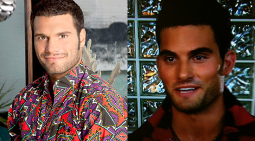 Separated at Birth: Frank from The Challenge and one of the dudes from boy band Citzen on The X Factor.