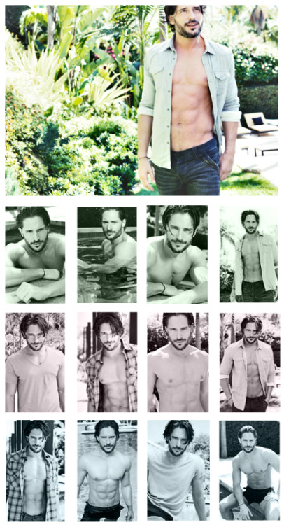 Joe Manganiello ~ Cheyenne Ellis Photo Shoot