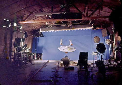 space-age-planet:  Star Trek, behind the scene