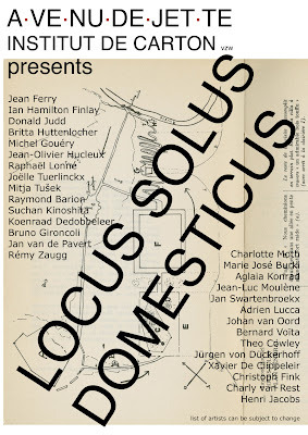 Locus Solus Domesticus22.09 — 22.12.12Former researchers Adrien Lucca and Suchan Kinoshita participate in Locus Solus Domesticus, a group show in Brussels (BE) organised by A.VE.NU.DE.JET.TE Institut de Carton.