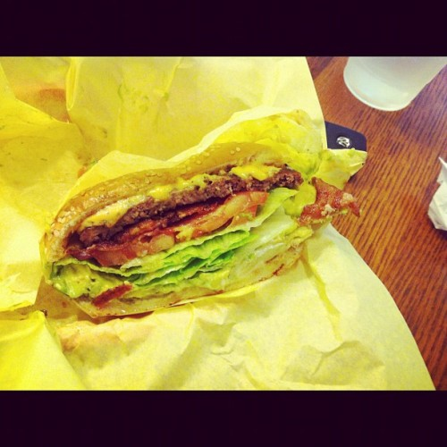 C'est bon! (Taken with Instagram at Super Burger)