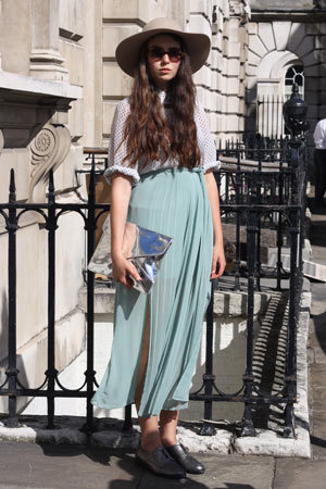 London Fashion Week SS13 Street Style :: Company.co.uk on We Heart It. http://weheartit.com/entry/37892946