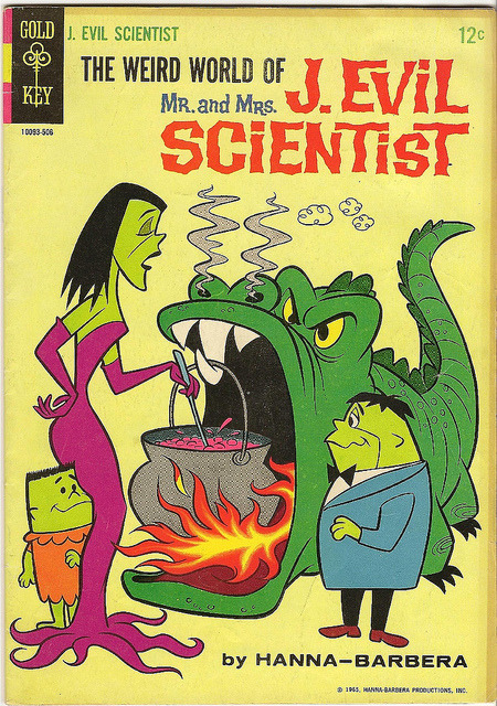 Mr & Mrs. J. Evil Scientist #3 (1964)