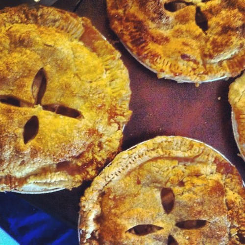 Sooo many #applepies!! (Taken with Instagram)