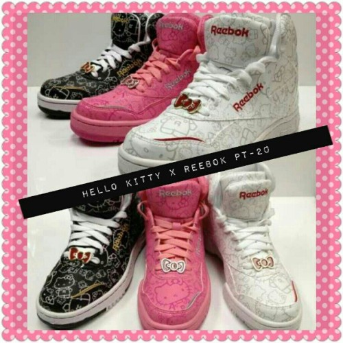 Hello Kitty x Reebok PT-20 #asiaexclusive  (Taken with Instagram at www.retr0diva.com ♥)