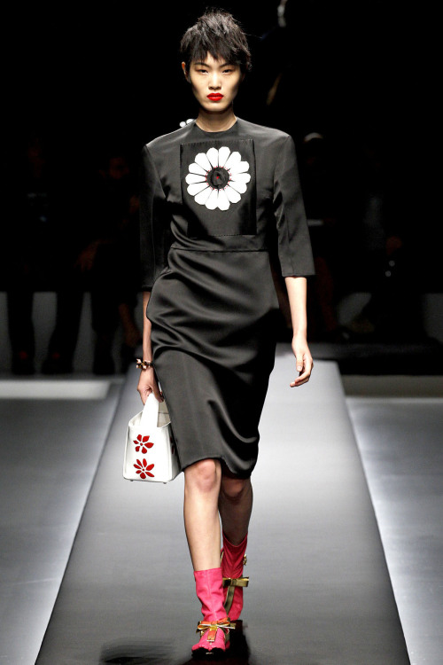 Chiharu Okunugi, exclusive for Prada S/S 2013