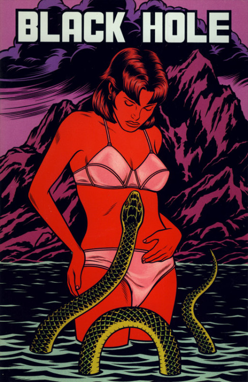 Black Hole #7 - Charles Burns art..