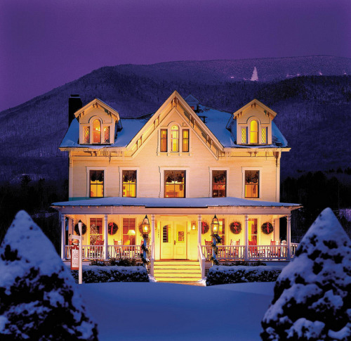 georgianadesign:  Travel New England. The Orvis Inn, Vermont. The Equinox Resort & Spa by Luxury Collection.