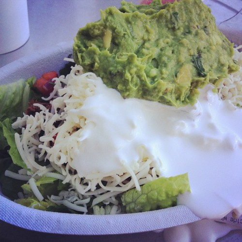 #KETO powermeal!  (Taken with Instagram at Chipotle Mexican Grill)