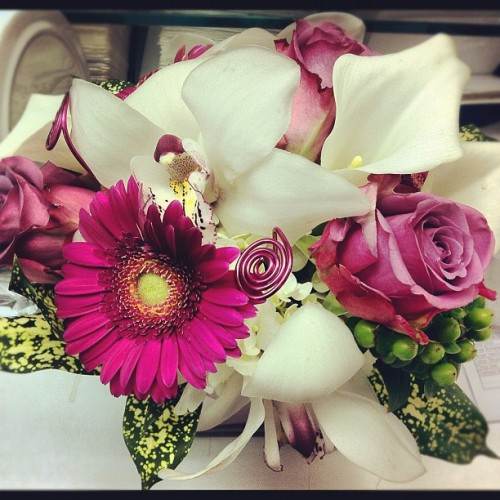 Beautiful birthday blooms from my Mumma :) (Taken with Instagram)
