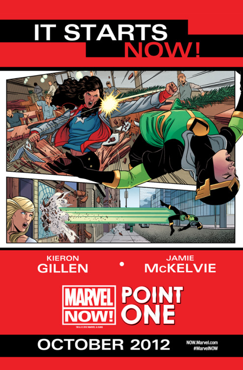 kierongillen:  The teaser for McKelvie and my own story in POINT ONE in October. I literally can't say any more now. But you'll like this one.    Huzzah! Much rejoicing that this can now be talked about. Can't wait to see what Kieron and Jamie have rustled up for us ^_^