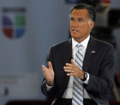 "peterfeld:  Political story of the day goes to Blisstree, ""Mitt Romney's Self-Tanner Trouble: What You Can Learn From His Bad Bronze Job."" This sure helps explain his fondness for Snooki.  coincidence he browned himself up for a UNIVISION thing?   hmmmm."
