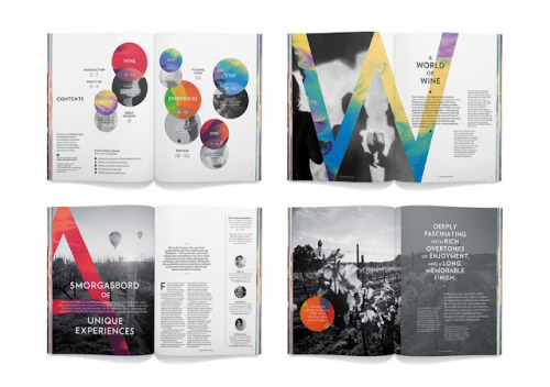 Great work for Hunter Valley identity by Strategy Design