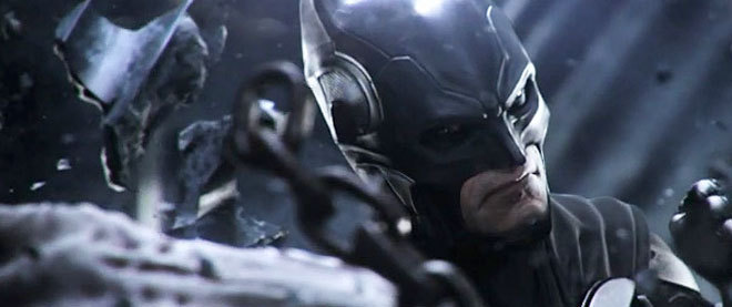 Kevin Conroy Voices Batman in Latest 'Injustice: Gods Among Us' Trailer NetherRealm Studios debuted a new trailer at the Tokyo Game Show for their upcoming fighting game, Injustice: Gods Among Us, which revealed that fan-favorite voice actor Kevin Conroy has returned once again to voice Batman! Conroy is most well known for his portrayal of the Dark Knight in Batman: The Animated Series, but has since gone on to voice the character for several direct-to-video features as well as the Arkham Asylum and Arkham City titles from Rocksteady Studios. Read more: Kevin Conroy returns to the role of Batman for 'Injustice: Gods Among Us'