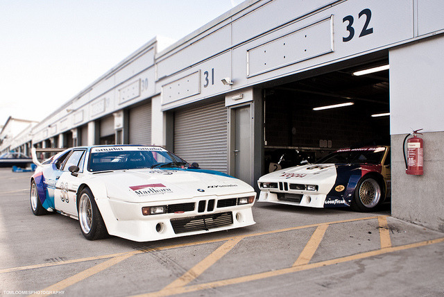 icantgetmyusernameonthisshit:  2x BMW M1 Procar by tomloomes on Flickr.