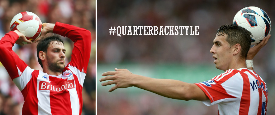 What is #QuarterbackStyle? We don't exactly know. But to help us find out, we're asking GFOPs to send photos of yourself engaged in an activity #QuarterbackStyle. The winner will receive a signed Stoke City jersey courtesy EA Sports. Signed by whom? We don't know that either. (You can pre-order FIFA 13 via the MiB Online Emporium).
